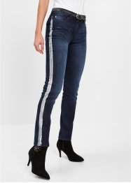 Stretch-Jeans mit Glanzstreifen, bpc selection