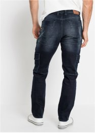 Slim Fit Cargo-Stretch-Jeans, Straight, John Baner JEANSWEAR