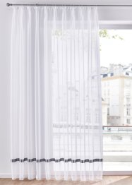 Transparente Gardine mit Satinband, bpc living bonprix collection