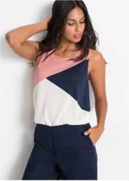 Top im Colorblocking-Design, BODYFLIRT