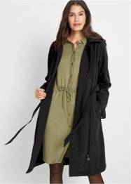 Softshelljacke in Trenchcoat-Optik, bpc bonprix collection