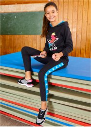 Mädchen Sweatshirt und Leggings (2-tlg.Set), bpc bonprix collection