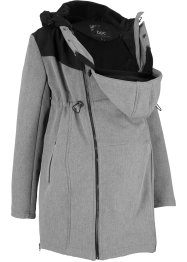 Kurzer Softshell-Umstandsmantel/Tragejacke, bpc bonprix collection