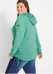 Sweatshirt mit Raffungen, bpc bonprix collection