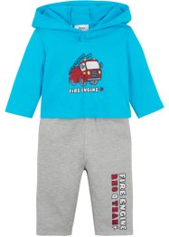 Baby Shirt und Sweathose (2-tlg.Set) Bio-Baumwolle, bpc bonprix collection