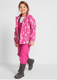Mädchen Regenjacke + Regenhose (2-tlg. Set), bpc bonprix collection