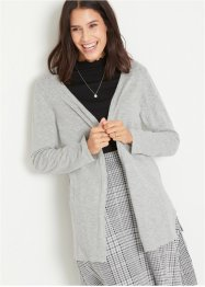 Strickjacke mit Schlitzen, bpc bonprix collection