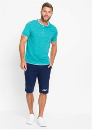 Henleyshirt, Kurzarm, bpc bonprix collection