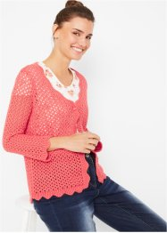 Strickjacke, 3/4-Arm, bpc bonprix collection