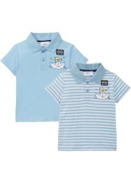 Baby Poloshirt (2er-Pack) Bio-Baumwolle, bpc bonprix collection