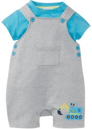 Baby T-Shirt + Sweatlatzhose (2-tlg. Set) Bio-Baumwolle, bpc bonprix collection