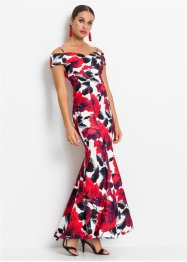 Cold-Shoulder-Kleid mit Rosen, BODYFLIRT boutique