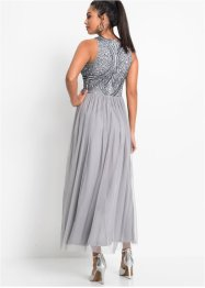 Maxikleid mit Perlen-Applikation, BODYFLIRT