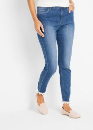 Maite Kelly 7/8 Jeans mit Spitzenbordüre, bpc bonprix collection