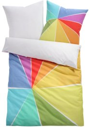 Wendebettwäsche mit Regenbogen Motiv, bpc living bonprix collection