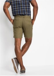 Leinen-Chino-Longshorts, Regular Fit, bpc bonprix collection