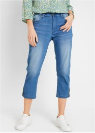 Nachhaltige 3/4-Jeans, Recycled Polyester, bpc bonprix collection