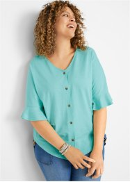 Shirtbluse mit Knopfleiste, bpc bonprix collection