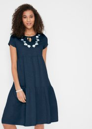 Tunika-Kleid aus Jersey, kurzarm, bpc bonprix collection