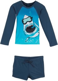 Badeshirt+ Badehose Jungen (2-tlg. Set), bpc bonprix collection