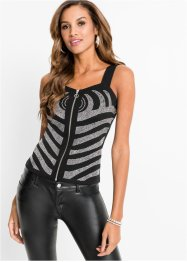 Top mit Strass-Applikation, BODYFLIRT boutique