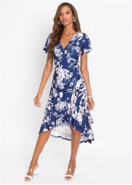 Wickelkleid mit Blumenprint, BODYFLIRT boutique