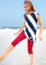 Mädchen Longtop und 3/4 Leggings (2-tlg.Set), bpc bonprix collection