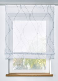 Transparentes Raffrollo mit Druck, bpc living bonprix collection