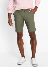 Regular Fit Chino-Bermuda, Straight, bpc bonprix collection