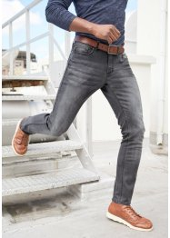 Slim Fit Premium-Stretch-Jeans mit T-400, Straight, John Baner JEANSWEAR