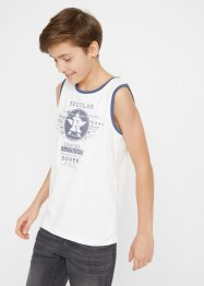 Jungen Tanktop aus Bio-Baumwolle(2er Pack), bpc bonprix collection