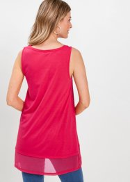 Long-Top mit Chiffon, bpc selection