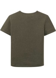 T-Shirt mit Druck und Applikation, bpc bonprix collection