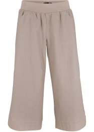 Lockere Leinenhose mit Bequembund, bpc bonprix collection