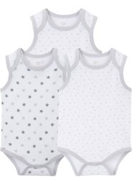 Baby Body ohne Arm (3er-Pack), bpc bonprix collection