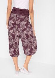 7/8-Hose mit Bequembund, Loose-Fit, bpc bonprix collection
