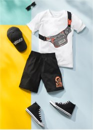 Jungen Shirt und kurze Hose (2-tlg.Set), bpc bonprix collection