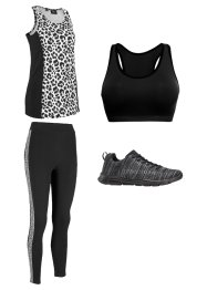 Modische Sport-Leggings aus einem Stretch-Material, bpc bonprix collection