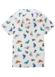 Jungen T-Shirt mit Kapuze, bpc bonprix collection