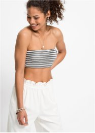 Bandeau-Top in Rippe, RAINBOW