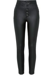 High Waist Lederimitat-Hose, BODYFLIRT boutique