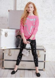Longshirt + Leggings (2-tlg.), bpc bonprix collection