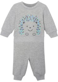 Baby Sweatshirt und Hose (2-tlg.Set) Bio-Baumwolle, bpc bonprix collection