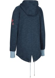 Sportliche Kapuzen-Sweatjacke, langarm, bpc bonprix collection