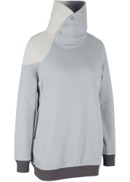 Modisches Sweatshirt mit hohem Kragen, langarm, bpc bonprix collection