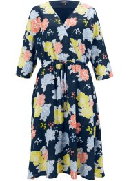 Georgette-Kleid mit Futter, 3/4-Arm, bpc bonprix collection