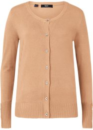 Fein-Strickjacke mit Knopfdetails, bpc bonprix collection