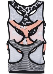 Mädchen Bustier (3er-Pack), bpc bonprix collection