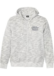 Kapuzen-Sweatjacke mit Komfortschnitt, bpc bonprix collection