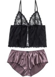 Top und Satin-Shorty (2-tlg.Set), VENUS